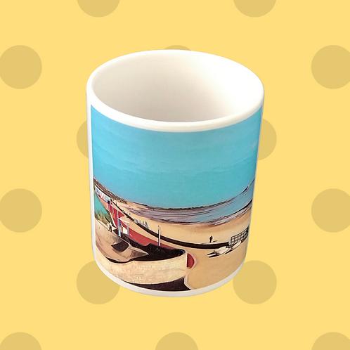 The Promenade Whitley Bay Gift Mug