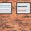 Thumbnail: Manchester Brick Sign 40x50cm Art Print
