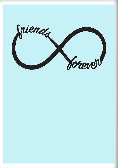 Friends Forever Fridge Magnet