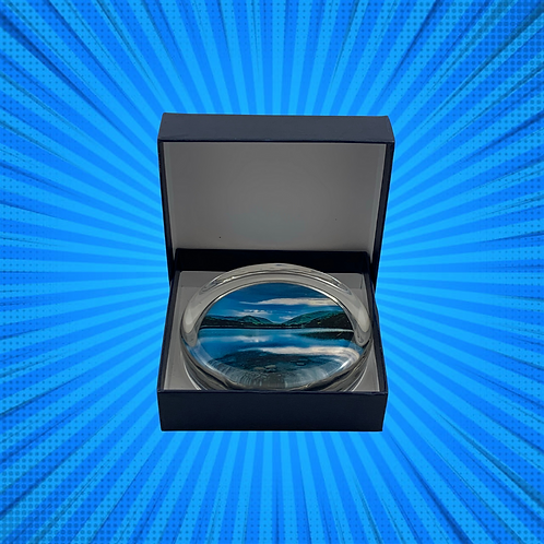 Grasmere Glass Paper Weight