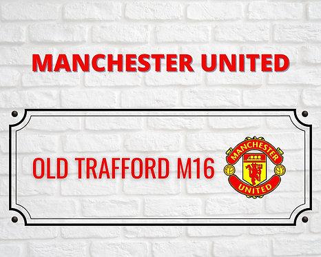 Manchester Brick Sign 24x30cm Art Print