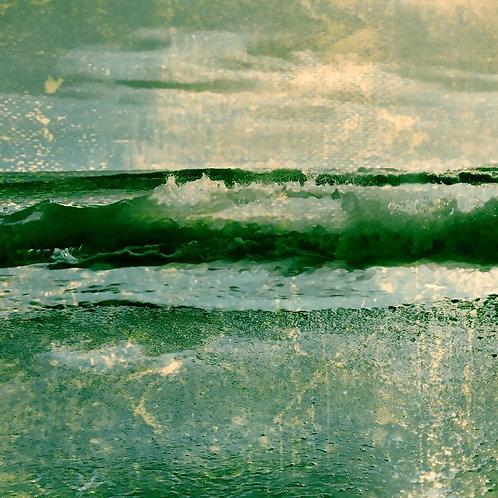 Aqua Green II 30x30cm Art Print