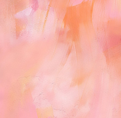 Blush Abstract 30x30cm Art Print