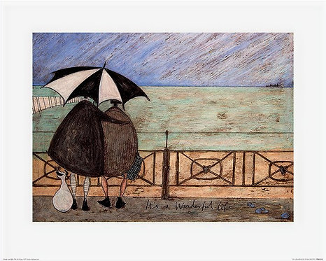 It's A Wonderful by Sam Toft 40x50cm Art Print