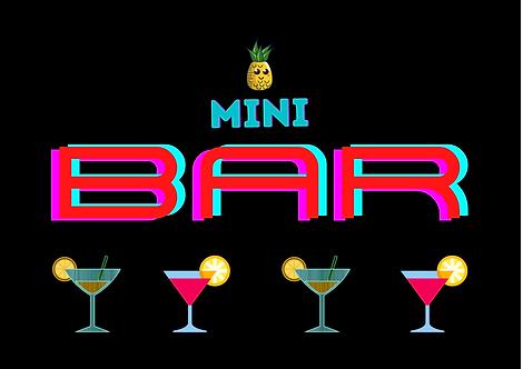 Mini Bar A4 Gloss Magnetic Print
