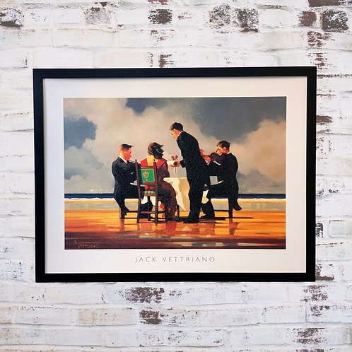 Elegy For A Dead Admiral By Jack Vettriano In Oil Paint Effect