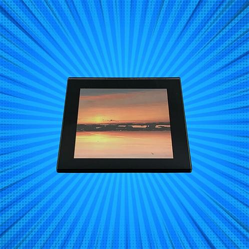 Sunrise II Glass Coaster