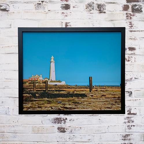 St Mary's Pilgrimage 40x50cm Framed Canvas