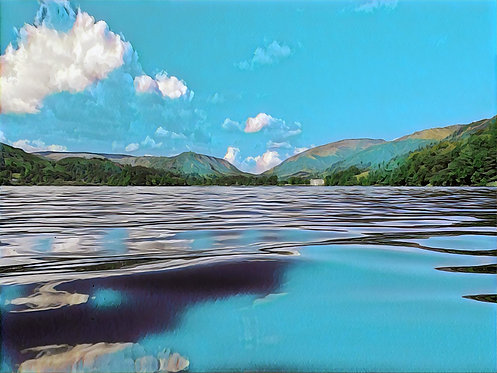 Grasmere Blues 40x50cm Art Print