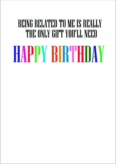 Wishing You A Happy Birthday From A Social Distance A5 Greeting Card