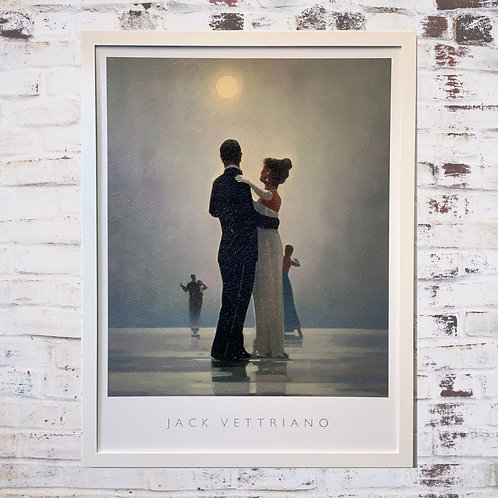 Dance Me To The End Of Love By Jack Vettriano In Oil Paint Effect