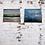 Thumbnail: Aqua Blue 40x50cm Framed Canvas