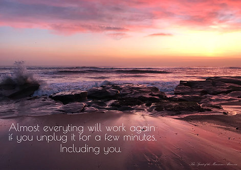 Almost Everything Will Work Again Greeting Card