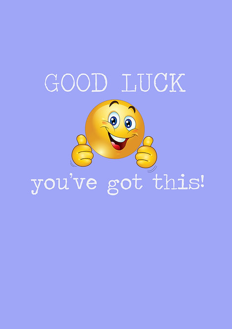 Good Luck You've Got This Greeting Card
