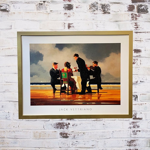 For A Dead Admiral By Jack Vettriano In Oil Paint Effect