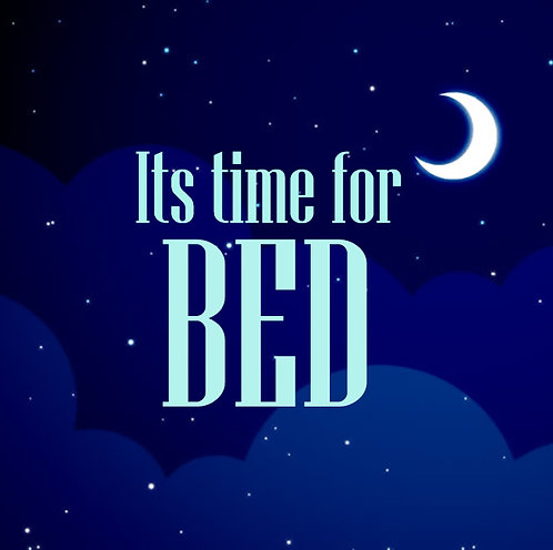 Time For Bed II 30x30cm Art Print.