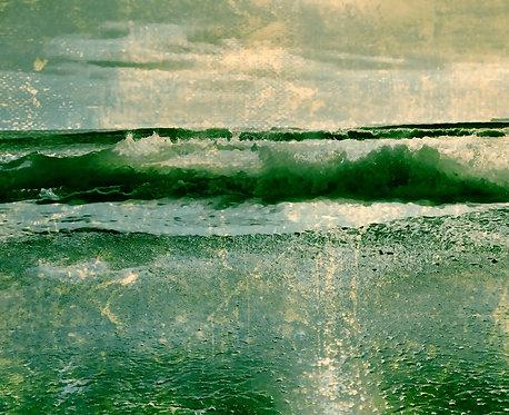 Aqua Green II 40x50cm Art Print