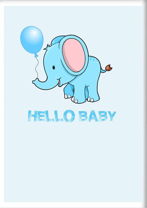 Hello Baby Fridge Magnet