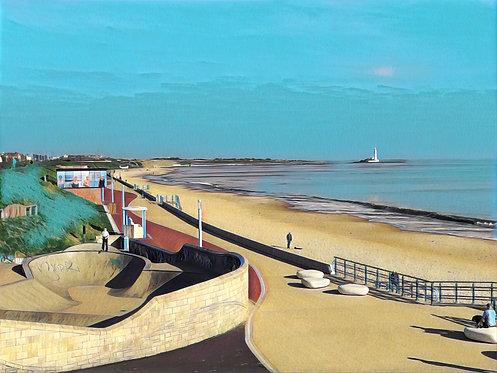 The Promenade 24x30cm Art Print