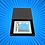 Thumbnail: Rendezvous Blue Glass Coaster