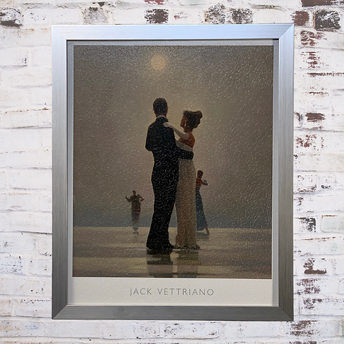 In Thoughts Of You By Jack Vettriano In Oil Paint Effect