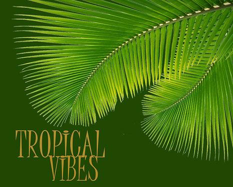 Tropical Vibes 24x30cm Art Print