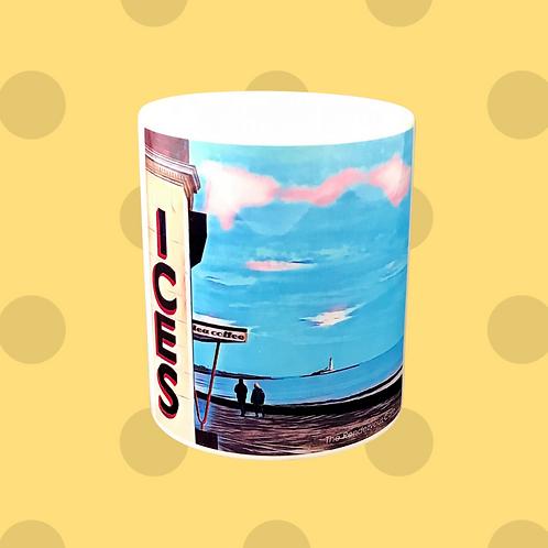 Rendezvous Blue Gift Mug