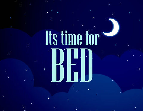 Time For Bed II 24x30cm Art Print.