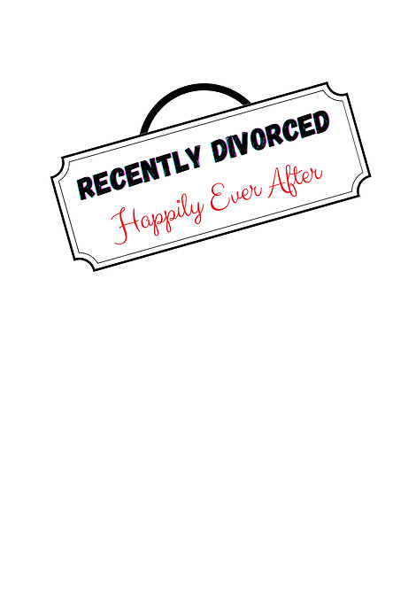Recently Divorced Happily Ever After Greeting Card