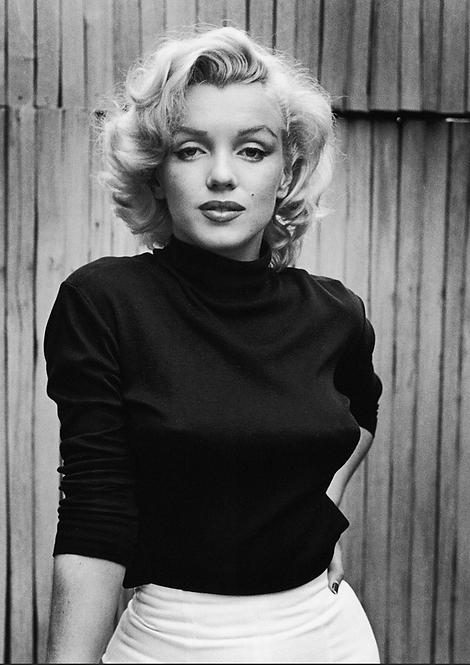 Marilyn Monroe Black & White A5 Gloss Paper Magnet