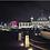 Thumbnail: City Lights Whitley Bay A6 Gloss Magnetic Print
