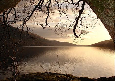 Loch Lomond Going Greeting Card