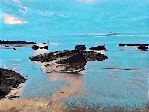 Blue Dawn 40x50cm Art Print