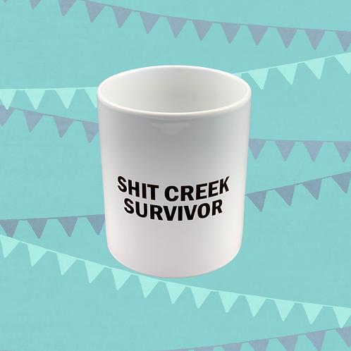 Shit Creek Survivor Gift Mug