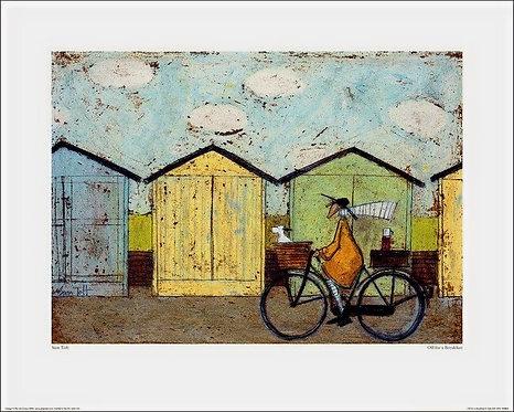 Off For Breakfast by Sam Toft 40x50cm Art Print
