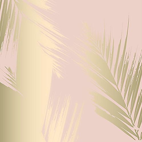 Blush & Gold 30x30cm Art Print