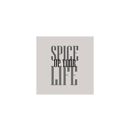 Spice Up Your Life 30x30cm Art Print in a White Mount.