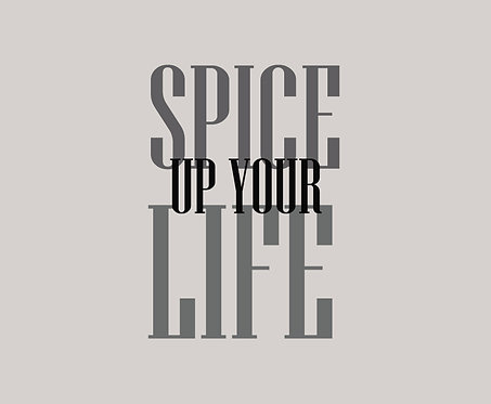Spice Up Your Life 40x50cm Art Print.