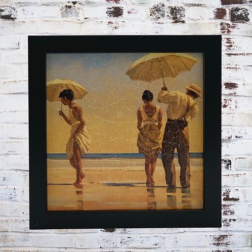 Mad Dogs By Jack Vettriano In Oil Paint Effect
