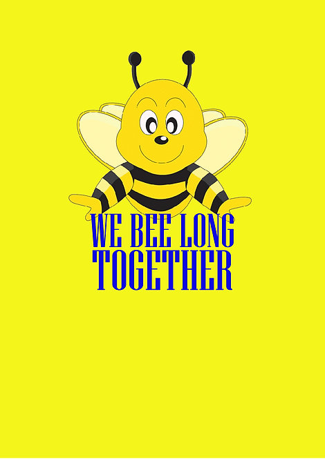 We Bee Long Together Greeting Card