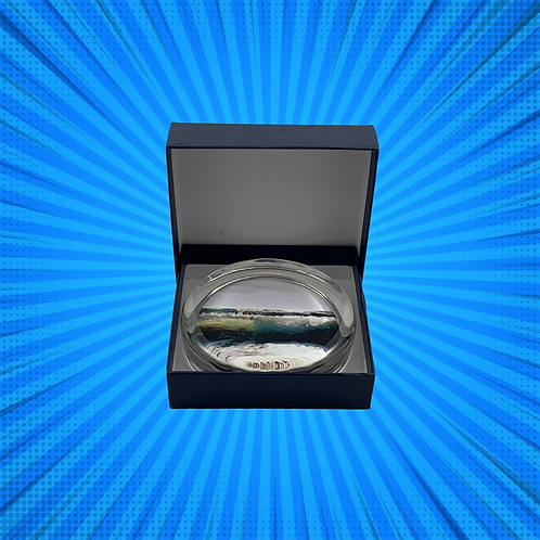 Morning Primaries Glass Paper Weight