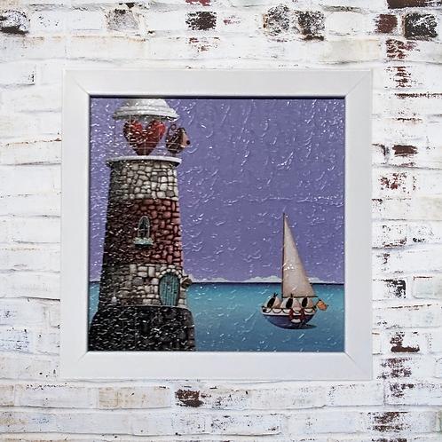 Sheep Ahoy By Simon Clarke Oil Paint Effect