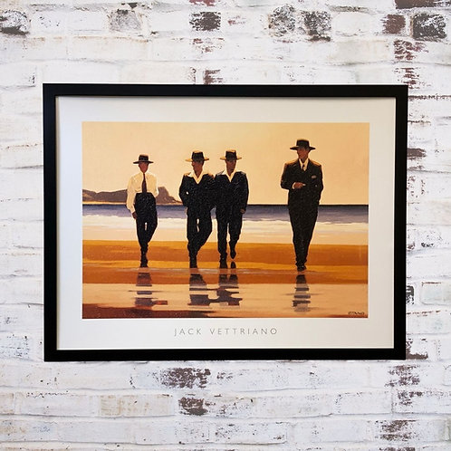 The Billy Boys Jack Vettriano In Oil Paint Effect