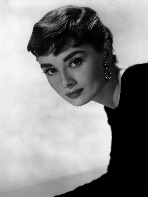 Hepburn 1954 24x30cm Art Print