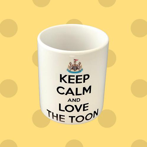 Keep Calm And Love The Toon Gift Mug