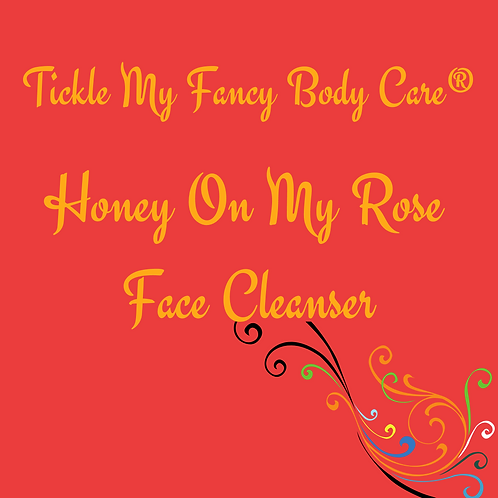 Honey on my Rose Face cleanser