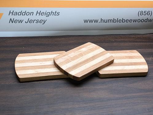 Maple & Oak Cutting Board