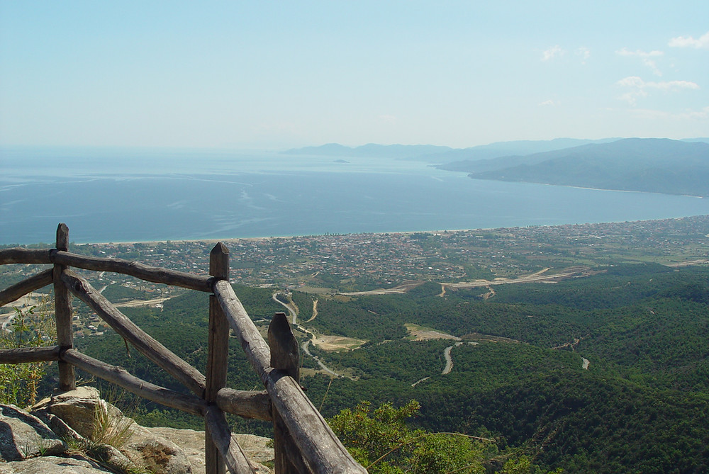 Orfanos bay
