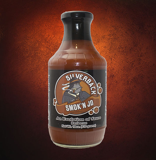 Silverback Gorill'n Sauce- SMOK'N JO (Quantities of 3)