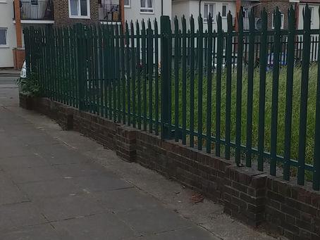 Breaking ground for the Community Garden